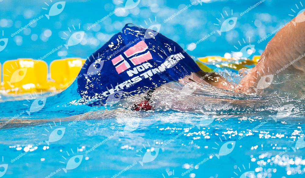 CHRISTIANSEN Henrik NOR <br /> swimming<br /> Men's 1500m freestyle heats<br /> day 16 29/07/2017 <br /> XVII FINA World Championships Aquatics<br /> Photo &copy; Giorgio Perottino/Deepbluemedia/Insidefoto