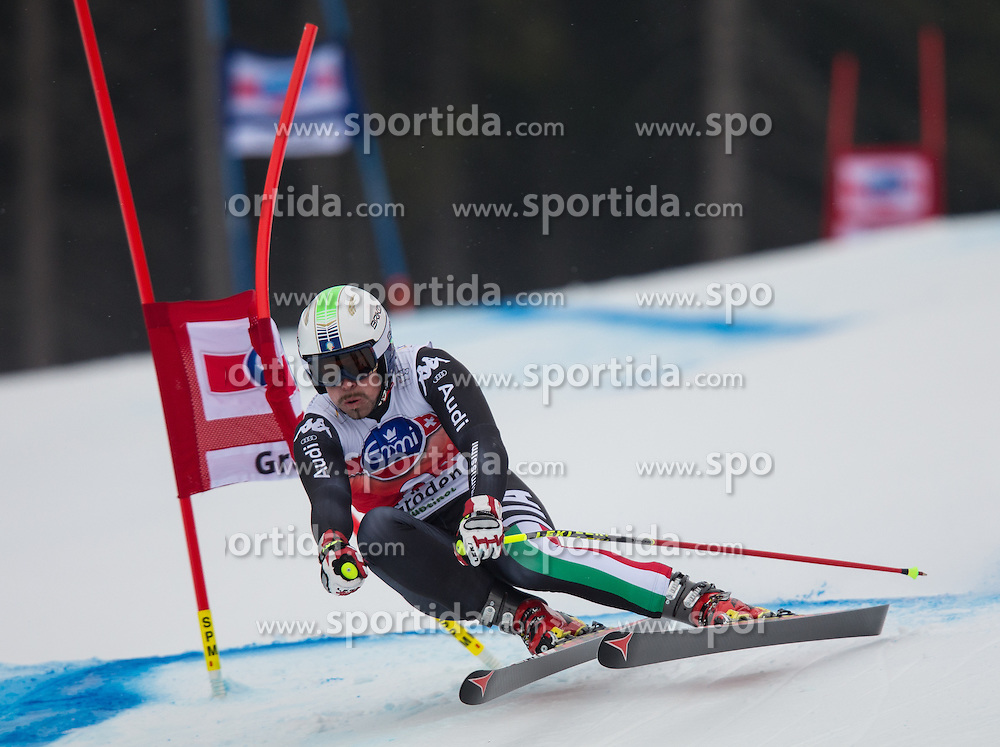 20.12.2013, Saslong, Groeden, ITA, FIS Ski Weltcup, Groeden, Abfahrt, Herren, SuperG, im Bild Peter Fill (ITA) // Peter Fill of Italy in action during mens Super-G of the Groeden FIS Ski Alpine World Cup at the Saslong Course in Gardena, Italy on 2012/12/20. EXPA Pictures © 2013, PhotoCredit: EXPA/ Johann Groder