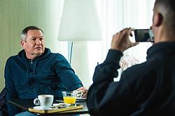 Matjaz Kek head coach of Slovenian national football team during interview on December 27, 2019 in Maribor, Slovenia. Photo By Grega Valancic / Sportida