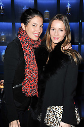 Left to right, AMANDA SHEPPARD and AMANDA CROSSLEY at the launch party for the new nightclub Public at 533 Kings Road, London on 2nd December 2010.
