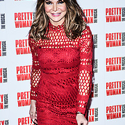 Lizzie Cundy Arrivals at Pretty Woman The Musical press night at Piccadilly Theatre on 2nd March 2020, London, UK.