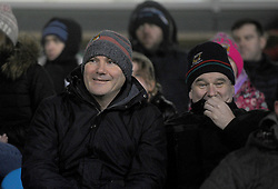 Mayo manager James Horan watching the Mayo U21 final at MacHale Park.<br />