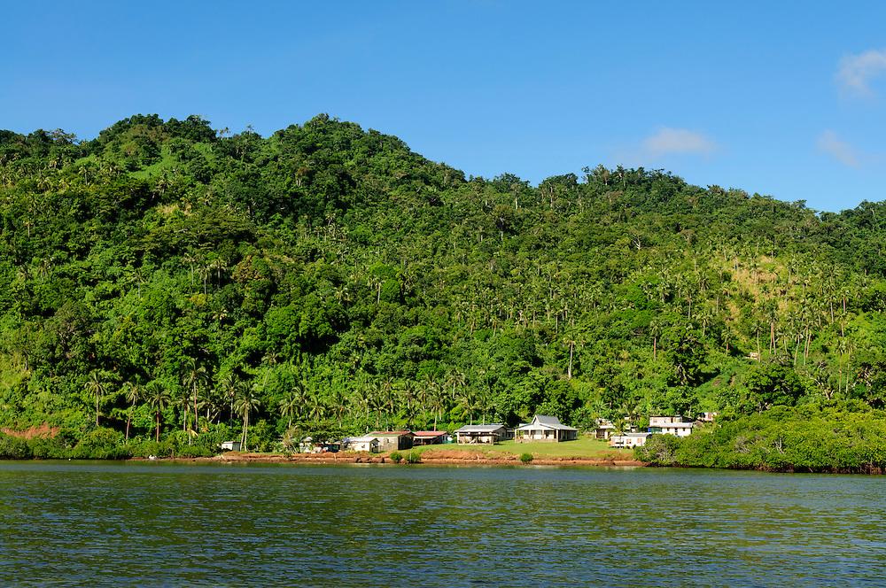 Matangi Private Island Resort visit to Tongo village on Qamea Island, Fiji.