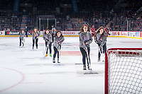 REGINA, SK - MAY 19: Ice crew at the Brandt Centre on May 19, 2018 in Regina, Canada. (Photo by Marissa Baecker/CHL Images)