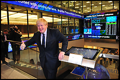 FEB 12 2013 Boris Johnson Opens the London Stock Exchange