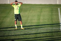 Neymar Júnior durante o treino de Brasil antes da partida contra o Colombia, válida pelas quartas de final da Copa do Mundo 2014, no Estádio Presidente Vargas, em Fortaleza-CE. FOTO: Jefferson Bernardes/ Agência Preview
