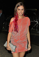 LONDON - July 26: Amber Le Bon at the Warner Music Group Pre-Olympics Party (Photo by Brett D. Cove)
