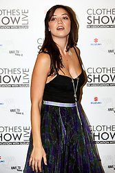 © Licensed to London News Pictures.  07/12/2012. BIRMINGHAM, UK. Model Daisy Lowe (pictured) is seen during the opening photo call for the Clothes Show Live event being held in the NEC, Birmingham. The show opens today and runs until Tuesday. Photo credit :  Cliff Hide/LNP