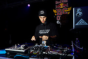 DJ Lean Rock during Red Bull BC One Houston, TX May 18, 2019