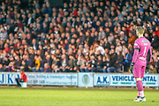 Vaclav Hladky of St Mirren watches on as his side get closer to scoring during the Ladbrokes Scottish Premiership match between St Mirren and Hamilton Academical FC at the Paisley 2021 Stadium, St Mirren, Scotland on 13 May 2019.