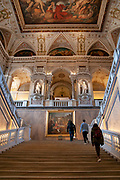 Interior of the Natural History Museum, Vienna, Austria