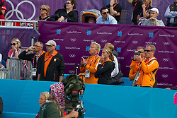 Team Netherlands: Ehrens Rob (NED), Van Der Heijden Maarten (NED), Hoogendoorn Arie (NED)<br /> Olympic Games London 2012<br /> © Dirk Caremans