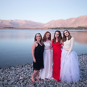 on location shoot in tekapo  with krystal