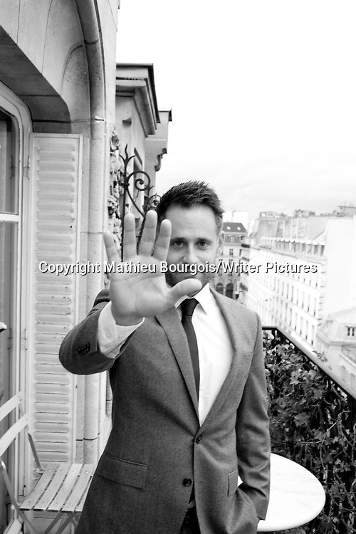Alexander Maksik. Photographed in Paris, 12th January 2014<br /> <br /> Picture by Mathieu Bourgois/Writer Pictures<br /> <br /> NO FRANCE