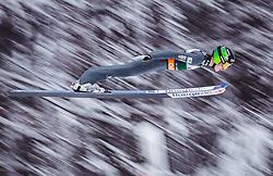 02.02.2019, Heini Klopfer Skiflugschanze, Oberstdorf, GER, FIS Weltcup Skiflug, Oberstdorf, im Bild Timi Zajc (SLO) // Timi Zajc of Slovenia during the FIS Ski Jumping World Cup at the Heini Klopfer Skiflugschanze in Oberstdorf, Germany on 2019/02/02. EXPA Pictures © 2019, PhotoCredit: EXPA/ JFK
