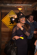 KATY WICKREMESINGE, The launch of Beaver Lodge in Chelsea, a cabin bar and dance saloon, 266 Fulham Rd. London. 4 December 2014