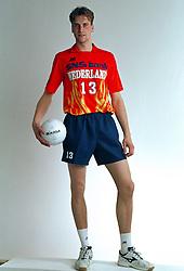 21-05-1997 VOLLEYBAL: TEAMPRESENTATIE MANNEN: WOERDEN<br /> Twan van Kuijk<br /> ©2007-WWW.FOTOHOOGENDOORN.NL