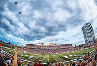 August 25, 2016: The CFL match between the Ottawa RedBlacks and the BC Lions at TD Place Stadium in Ottawa, ON. Canada on Aug. 25, 2016.<br /> <br /> PHOTO: Steve Kingsman/Freestyle Photography