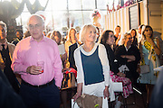 MICHAEL HOWARD; SANDRA HOWARD, Rachel Johnson book launch of Fresh Hell, Acklam Village Market, Acklam Rd. London W10.
