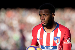 February 3, 2019 - Sevilla, Andalucia, Spain - Lemar of Atletico de Madrid looks on   during the LaLiga match between Real Betis vs Atletico de Madrid at the Estadio Benito Villamarin in Sevilla, Spain. (Credit Image: © Javier MontañO/Pacific Press via ZUMA Wire)