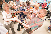 Big Dance Tea dance with a twist. The afternoon featured dance developed with All Change and Candoco Dance Company, along with a Charleston dance workshop, and music covering everything from 1940s waltzes and lindy hopping to reggae, funk and big band.