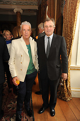 A party to promote the exclusive Puntacana Resort & Club - the Caribbean's Premier Golf & Beach Resort Destination, was held at Spencer House, London on 13th May 2010.<br /> <br /> Picture shows:-NICKY HASLAMand VISCOUNT ASTOR