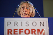 Dame Anne Owers speaking at the Prison Reform Trust lecture 2010.  Inside Out, reflections on nine years as cheif inspector of prisons. Central Hall, Westminster.