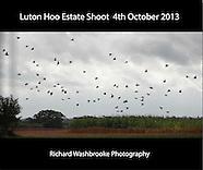 Luton Hoo Estate Shoot  4th October 2013