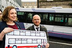 Patrick Harvie Better Bus campaign, Edinburgh 5 April 2016