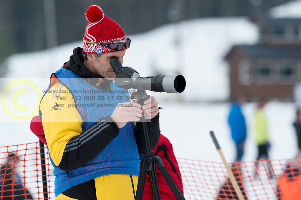 Coach, GER, Short Distance Biathlon, 2015 IPC Nordic and Biathlon World Cup Finals, Surnadal, Norway