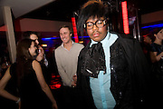 RICHARD SHOYEMI, Beyond the Rave, Celebration of Hammer Film's  first horror movie broadcasr on MYSpace. Shoreditch House. London. 16 April 2008.  *** Local Caption *** -DO NOT ARCHIVE-© Copyright Photograph by Dafydd Jones. 248 Clapham Rd. London SW9 0PZ. Tel 0207 820 0771. www.dafjones.com.