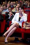 2013/06/11 Roma, assemblea annuale di Confartiginato. nella foto Simona Vicari.<br /> Rome, Confartigianato (reading National Confederation of Artisans). Nella foto Simona Vicari - &copy; PIERPAOLO SCAVUZZO