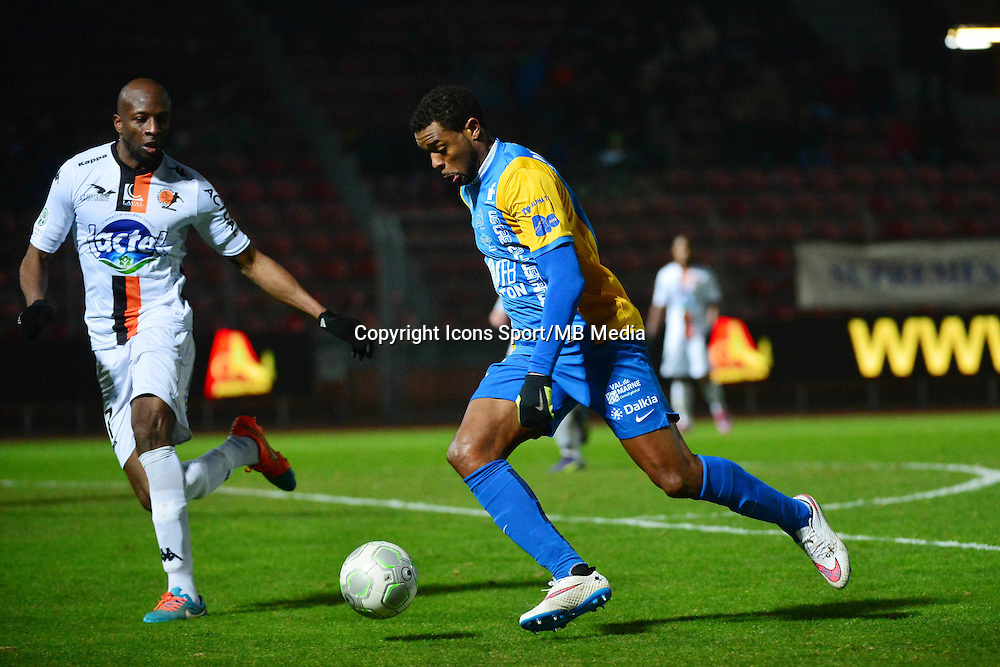 Frederic PIQUIONNE - 23.01.2015 - Creteil / Laval - 21eme journee de Ligue 2<br /> Photo : Dave Winter / Icon Sport