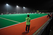 Ball Patrol for Canterbury against Surbiton in the NOW: Pension Men's Hockey League Premier Division, Polo Farm, Canterbury, Kent, 22nd November 2014.