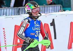 28.12.2017, Hochstein, Lienz, AUT, FIS Weltcup Ski Alpin, Lienz, Slalom, Damen, 2. Lauf, im Bild Roni Remme (CAN) // Roni Remme of Canada reacts after her 2nd run of ladie's Slalom of FIS ski alpine world cup at the Hochstein in Lienz, Austria on 2017/12/28. EXPA Pictures © 2017, PhotoCredit: EXPA/ Erich Spiess
