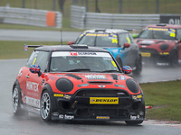 #0 Lawrence DAVEY MINI JCW  during MINI Challenge – JCW  as part of the British GT and BRDC British F3 Championship at Oulton Park, Little Budworth, Cheshire, United Kingdom. April 02 2018. World Copyright Peter Taylor/PSP.
