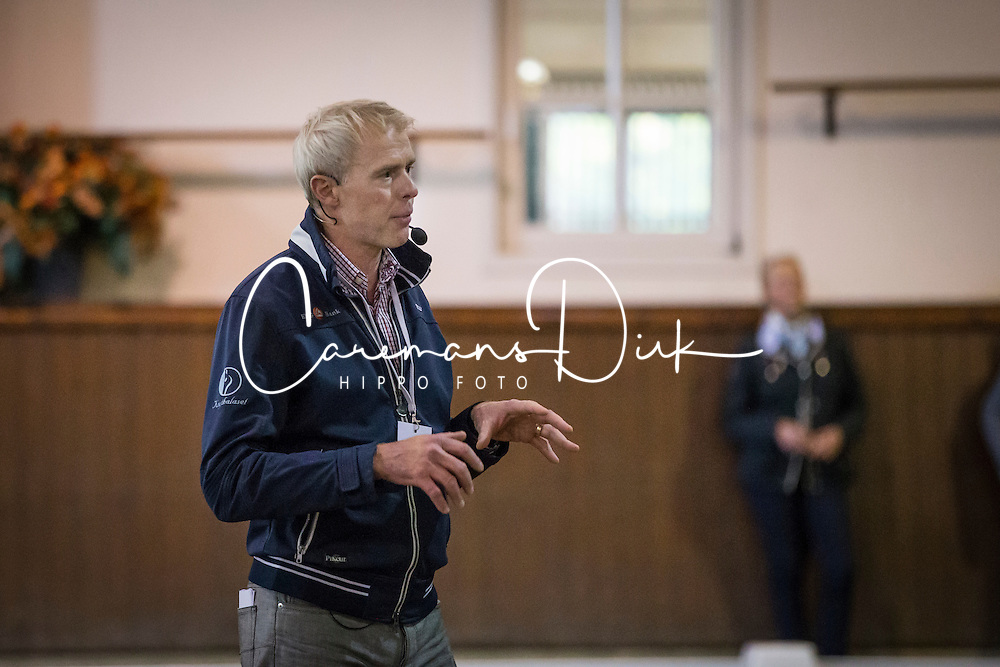Jan Brink (SWE)<br /> Global Dressage Forum<br /> Academy Bartels - Hooge Mierden 2013<br /> &copy; Dirk Caremans