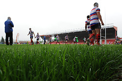 Bristol Rugby train at Ashton gate for the first time - Photo mandatory by-line: Dougie Allward/JMP - Mobile: 07966 386802 01/09/2014 - SPORT - FOOTBALL - Bristol - Ashton Gate - Bristol Rugby Open Training Session - Green King IPA Championship