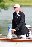 Henley, GREAT BRITAIN,  Henley Steward and Umpire, F.J.[Fred] SMALLBONE. 2012 Henley Royal Regatta. Wednesday  27/06/2012 [Mandatory Credit, Peter Spurrier/Intersport-images] ..Rowing Courses, Henley Reach, Henley, ENGLAND . HRR.
