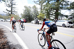 Clara Koppenburg (GER) on the final climb at Amgen Tour of California Women's Race empowered with SRAM 2019 - Stage 2, a 74 km road race from Ontario to Mount Baldy, United States on May 17, 2019. Photo by Sean Robinson/velofocus.com