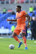 Cardiff City's Nathaniel Mendez-Laing*** during the EFL Sky Bet Championship match between Reading and Cardiff City at the Madejski Stadium, Reading, England on 18 August 2019.