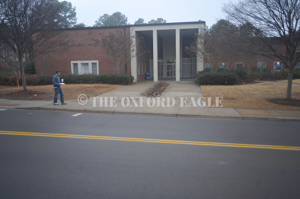 Miller Hall at Ole Miss, photographed on Monday, January 31, 2011, will be torn down to build a new dorm.
