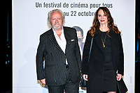 Nils Arestrup and his wife Isabel Le Nouvel attend the lumiere prize ceremony during 9th Film Festival in Lyon, October 20, 2017<br /> 9th Lyon Film Festival - Lumiere Award 2017