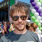 NLD/Amsterdam/20180701 - Evers staat op Run 2018, Giel Beelen