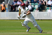 James Hildreth of Somerset batting during the Specsavers County Champ Div 1 match between Somerset County Cricket Club and Worcestershire County Cricket Club at the Cooper Associates County Ground, Taunton, United Kingdom on 20 April 2018. Picture by Graham Hunt.