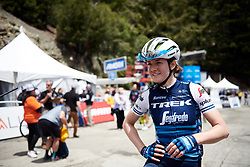Ruth Winder (USA) after Amgen Tour of California Women's Race empowered with SRAM 2019 - Stage 2, a 74 km road race from Ontario to Mount Baldy, United States on May 17, 2019. Photo by Sean Robinson/velofocus.com