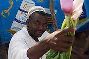 Mr Abond who sells turnips in the 4 sq km Abu Shouk refugee camp which is (disputedly) home to 38,000 displaced persons and families on the outskirts of the front-line town of Al Fasher (also spelled, Al-Fashir) in north Darfur. .
