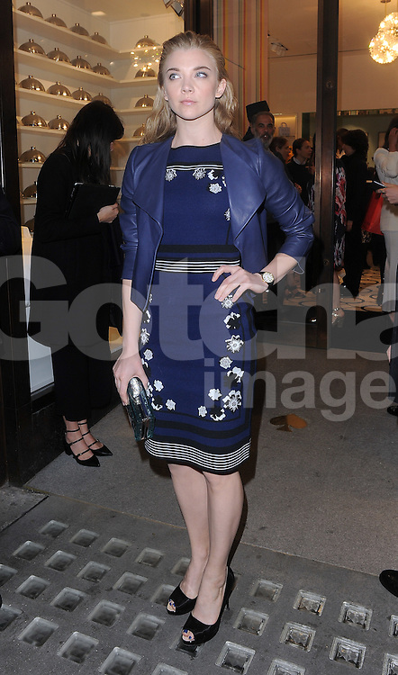 Actress Natalie Dormer attends the Kate Spade New York Regent Street - launch in London, UK. 21/04/2016<br />BYLINE MUST READ : GOTCHAIMAGES.COM<br /><br />Copyright by &copy; Gotcha Images Ltd. All rights reserved.<br />Usage of this image is conditional upon the acceptance <br />of Gotcha Images Ltd, terms and conditions available at<br />www.gotchaimages.com