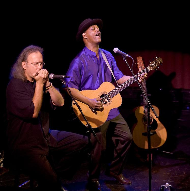 Eric Bibb and Grant Dermody