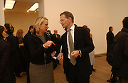 LOUISA BUCK AND SIR NICHOLAS SEROTA, Martin Kippenberger, Tate Modern. 7 Febriuary 2006. -DO NOT ARCHIVE-© Copyright Photograph by Dafydd Jones 66 Stockwell Park Rd. London SW9 0DA Tel 020 7733 0108 www.dafjones.com